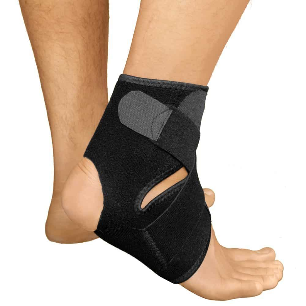ankle taping more effective than bracing Is there anything special that can be done to strengthen a weak ankle and what  do you advise – is the taping/brace combo better than just a brace or just tape.