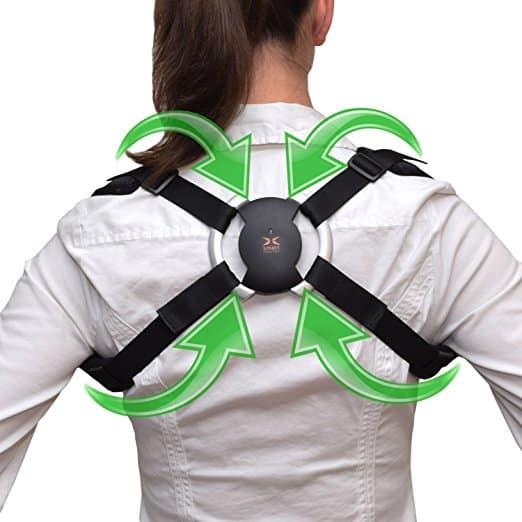 How do back braces correct bad posture?