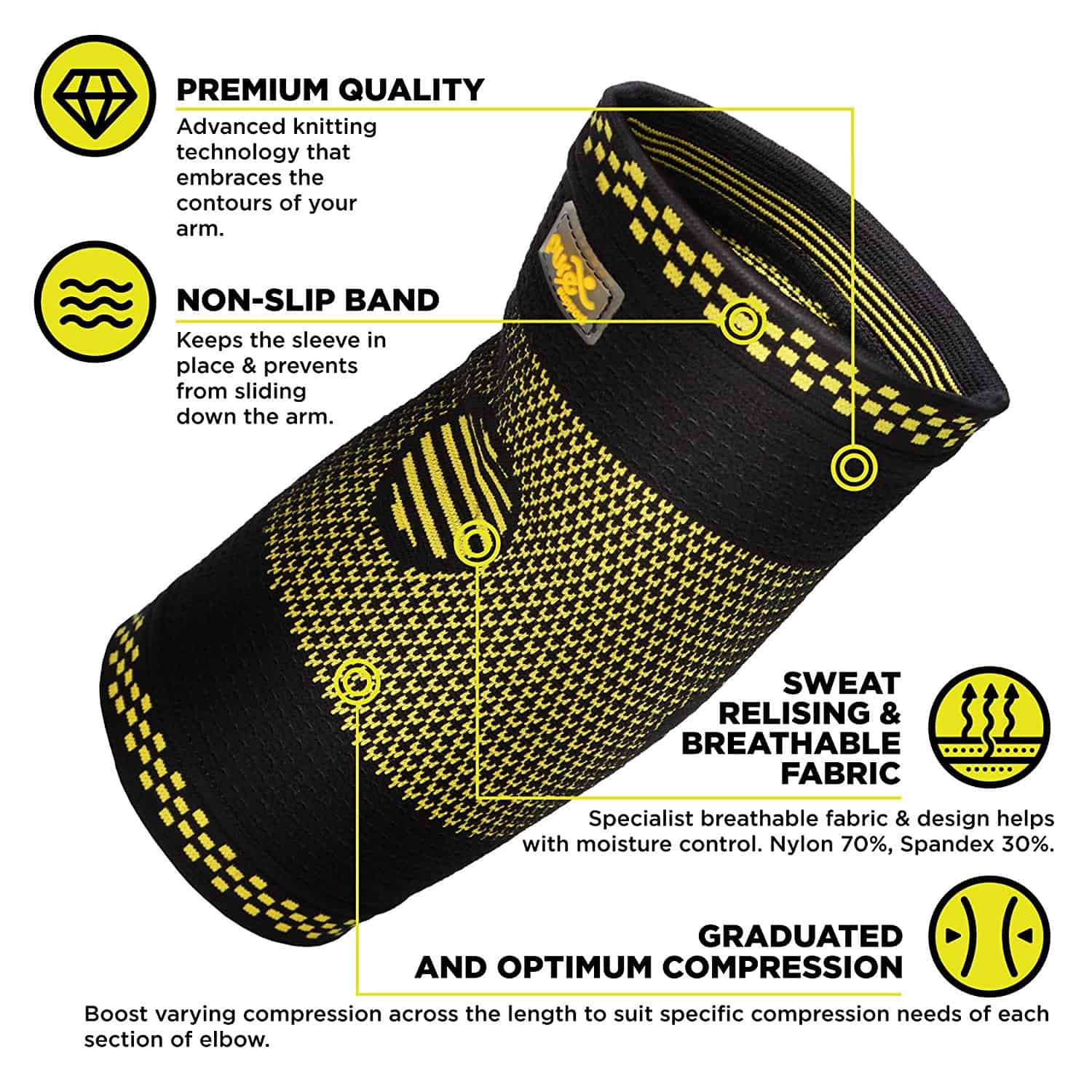 Elbow Brace Compression Support for Tendonitis