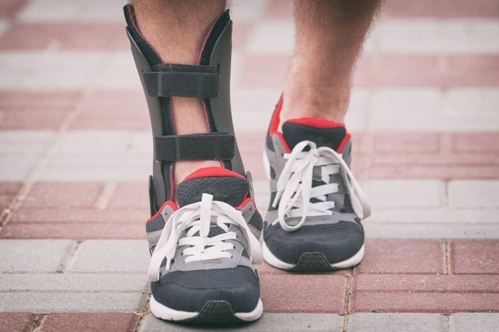 Ankle braces for runners