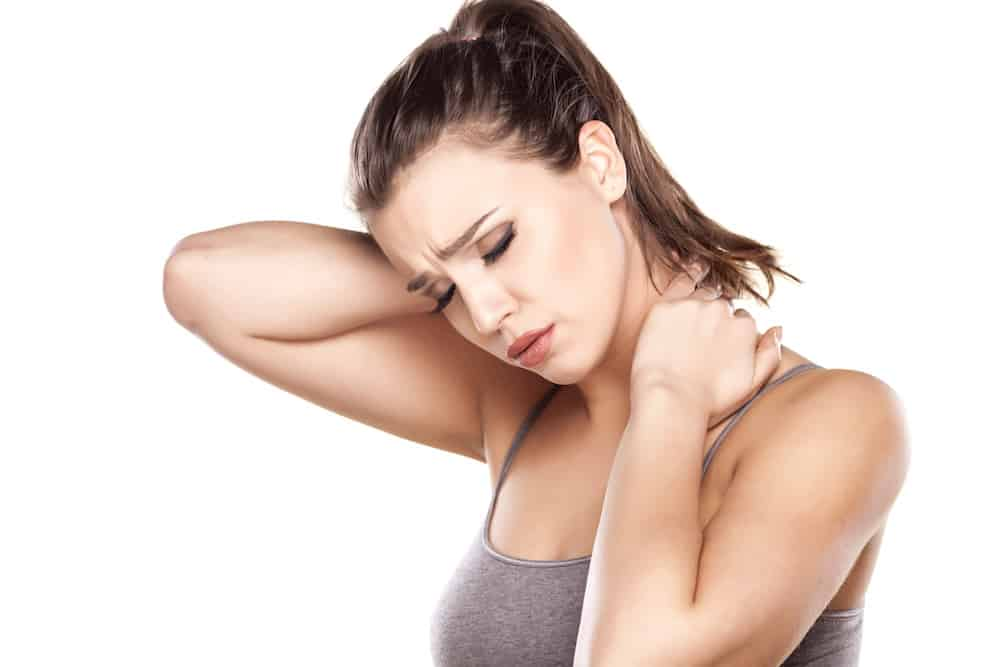 back and neck pain self massage relief